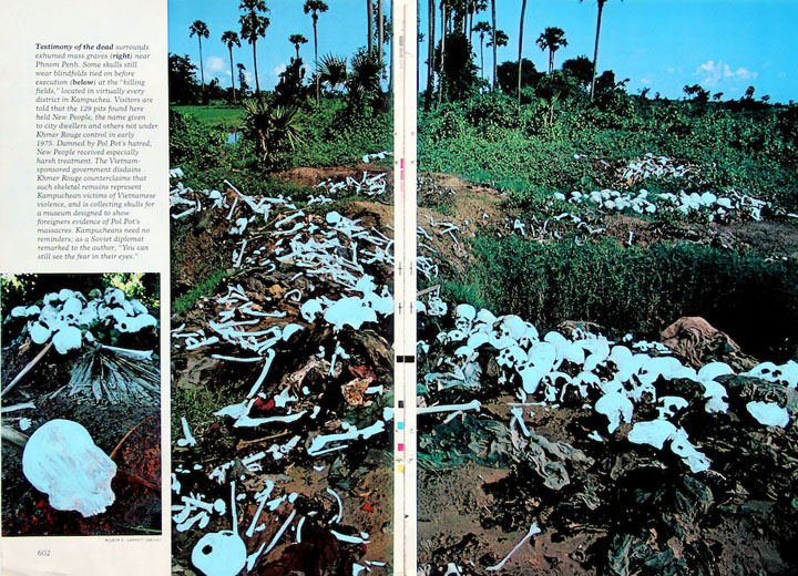 skull field Cambodia national geographic contemporary art ashley normal death